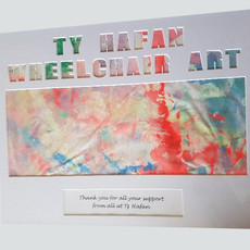 BSC Supports Wheelchair Art By The Children Of Tŷ  Hafan