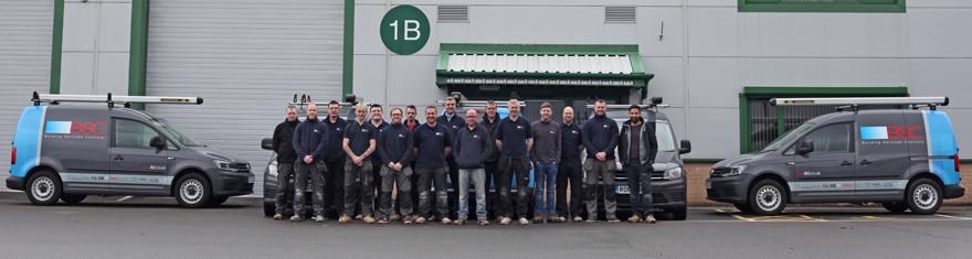 Building Services Controls Bsc Unveil Branded Fleet