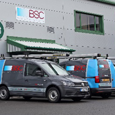 BSC UNVEIL BRANDED FLEET FOR A GROWING INSTALLATION TEAM